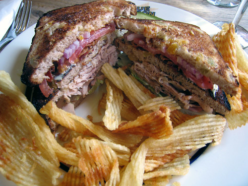 Duck BLT at Blue RIbbon | by The Amateur Gourmet