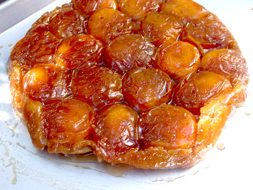apricot tarte tatin | An apricot tarte tatin - for Tad's fat ...