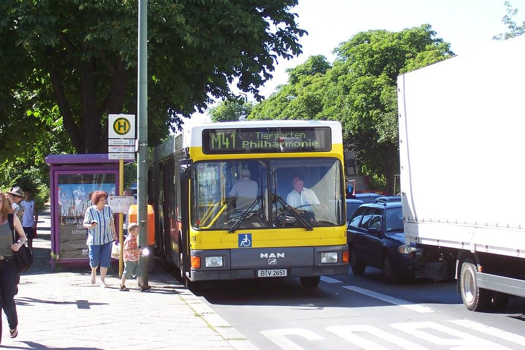 berlin m41 bus sonnenallee haltestelle sonnenallee baumsch flickr. Black Bedroom Furniture Sets. Home Design Ideas
