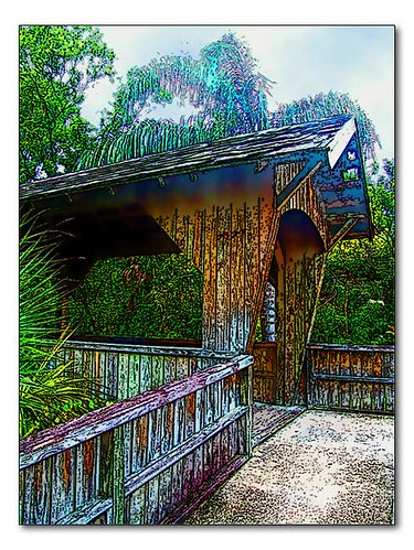 Covered bridge | by PattiLynn