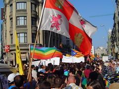 Manifestaci n orgullo gay barcelona inicio de la for Chat gay gratis bcn