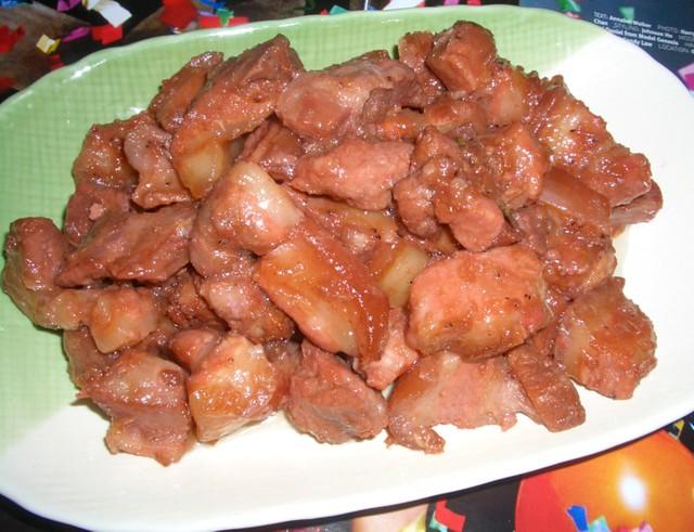 Pork Shrimp Pork Belly Stewed in Shrimp