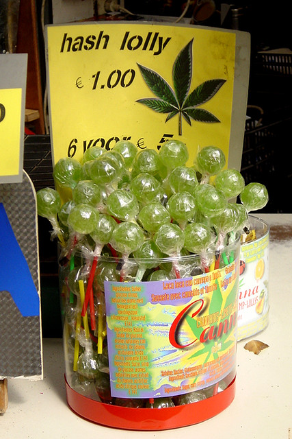 Marijuana Lollipops In Amsterdam Stock Photo | Getty Images