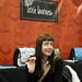 Jenny Hart in Lexie Barnes' booth