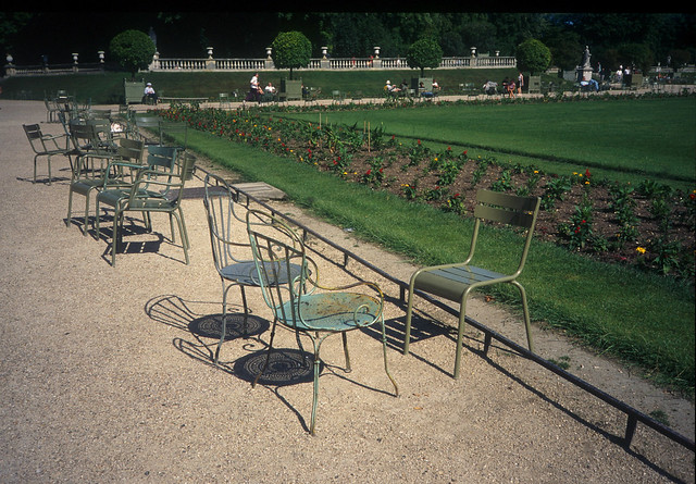 Jardin du luxembourg flickr photo sharing - Chaise jardin du luxembourg ...