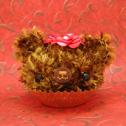 Amigurumi caramel and chocolate cupcake bear | by Amigurumi Kingdom