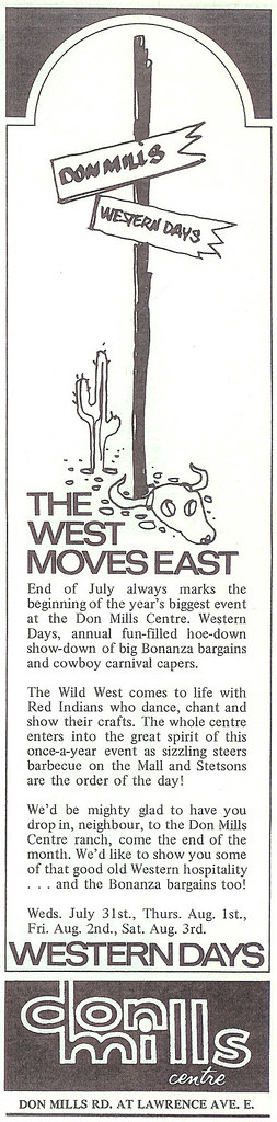 Vintage Ad #191 - The West Moves East