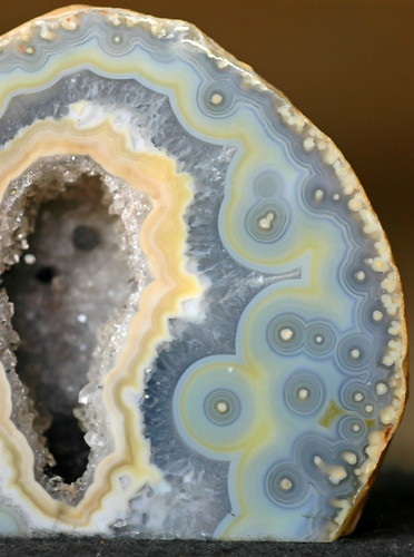 Blue Lace Agate Geode | by schwigorphotos