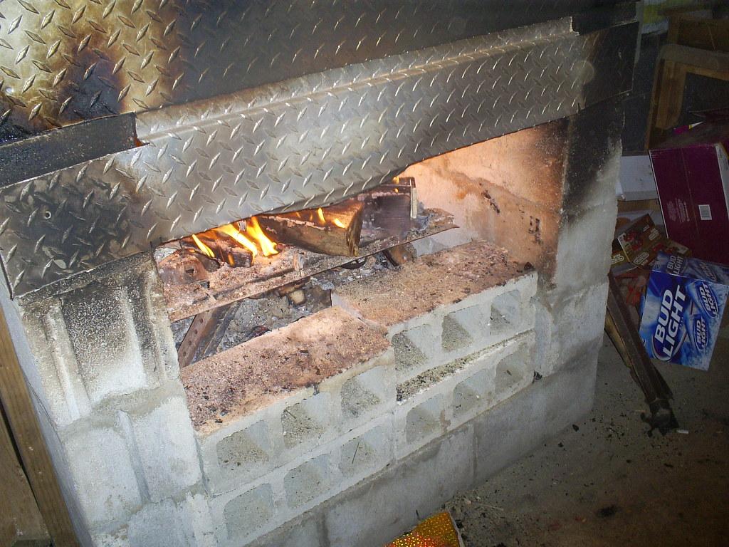 RedNeck Fireplace | Vickie Tallent | Flickr