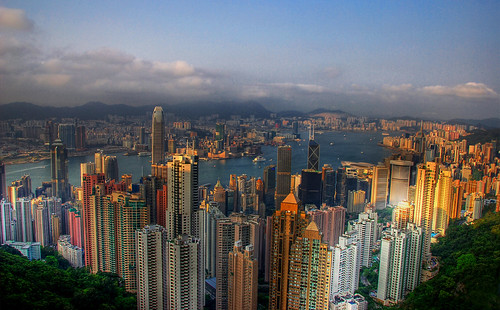Hong Kong from Victoria Peak | by Jonnyfez