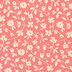 Pink Petals Fabric | by lilli tutu