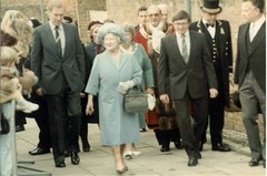 North Woolwich museum Royal opening, November 1984.  2 of 7 | by gravyphig