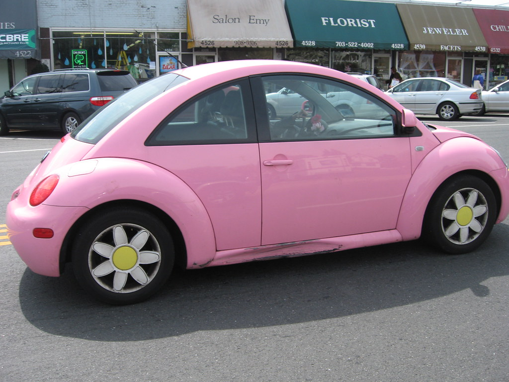 Complete With Daisy Wheels And Love Bug Plates With