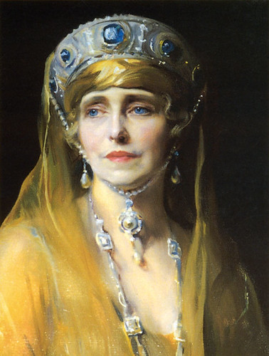 HM Queen Marie of Romania, Princess of Great Britain, Portrait by De Laszlo | by londonconstant