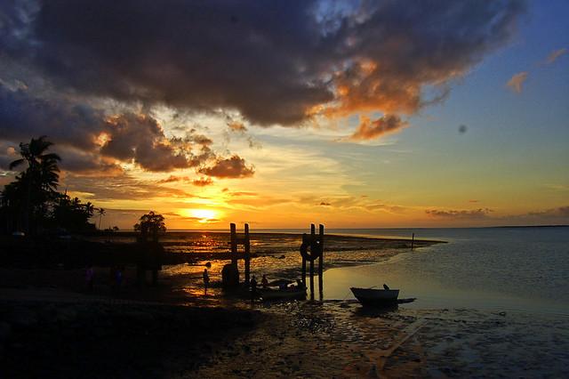 Saibai Island: The Sunset Was Absolutely Stunning