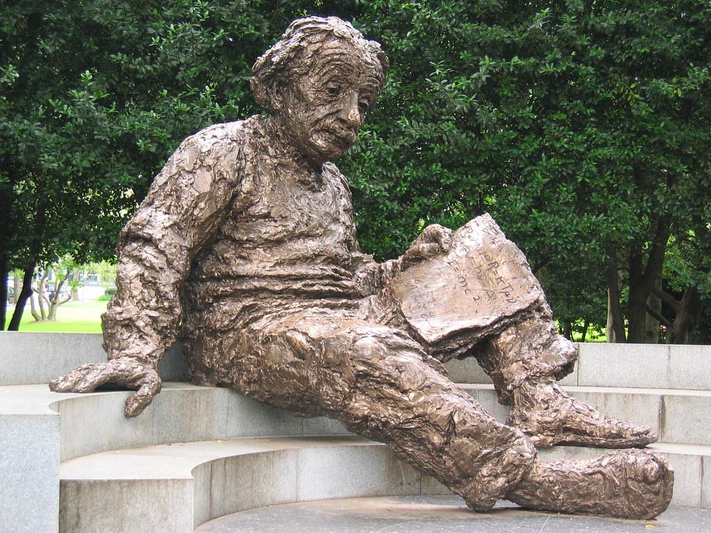 Albert Einstein Albert Einstein Memorial At National