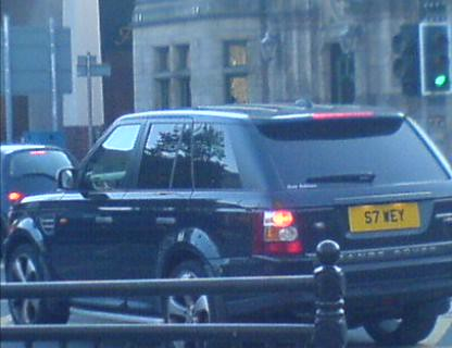 photo of Stewart Downing Range Rover - car