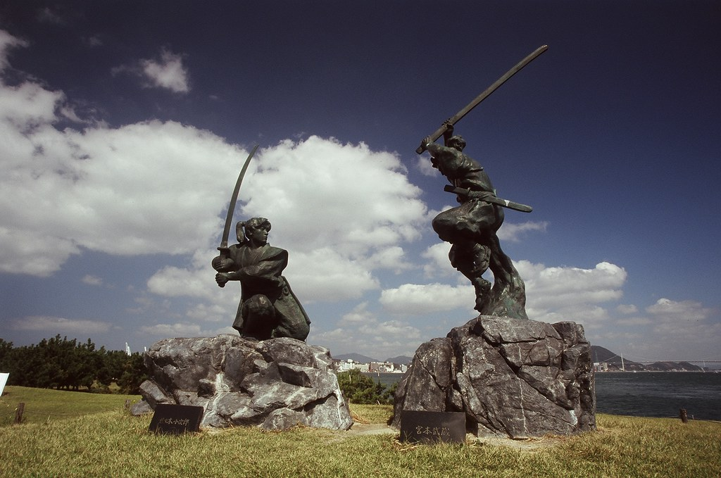 Duel between Sasaki Kojiro and Miyamoto Musashi The Duel took place in the remote island of Funajima, north of KokuraIn on April 14, 1612