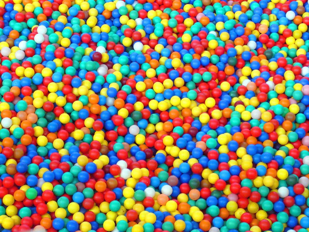 Ball Pit A Section Of The Huge Kid S Ballpit In Beijing