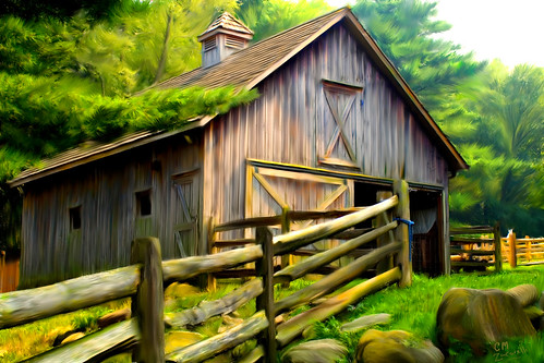painted barn | by Zacker The One and Only