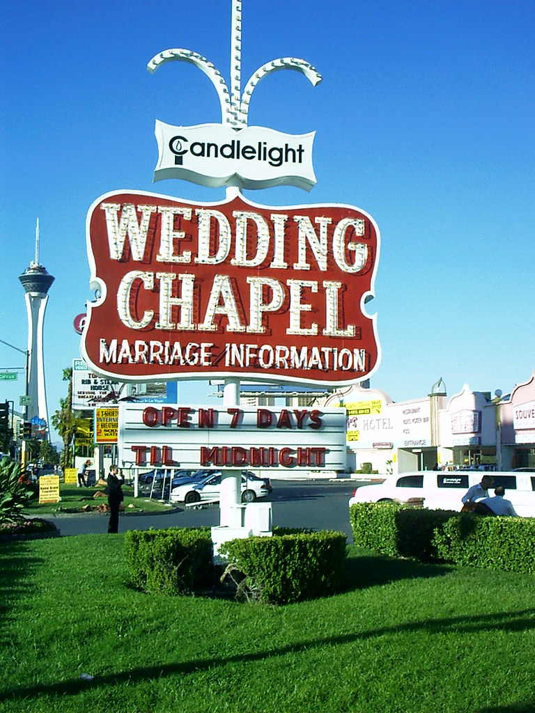 wedding chapel las vegas Candlelight Wedding Chapel Las Vegas by Twoleaf