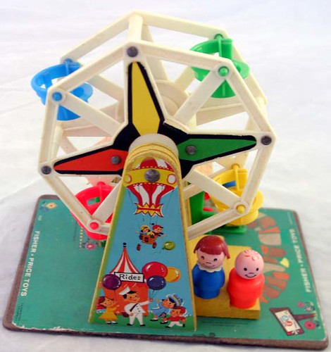 Vintage Fisher Price Ferris Wheel | Allison Jones | Flickr