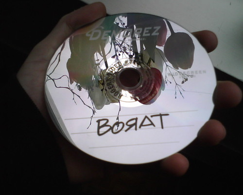 Borat DVD made to look like a burn | by Duncan Rawlinson - Duncan.co - @thelastminute
