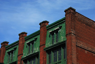 Toronto Distillery District building | by simmogem