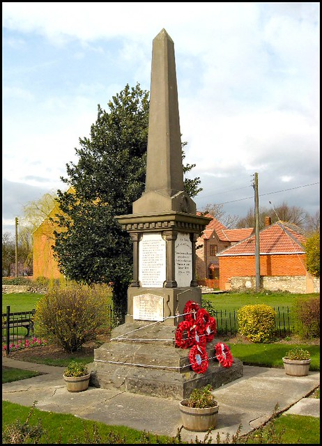 War Memorial Kirton In Lindsey Lincolnshire The War