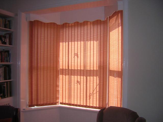 Bay Window Bay Window Vertical Blinds