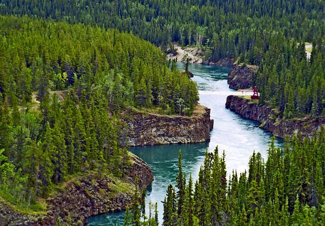Florida To Alaska On Bicycle 123 August 21 1997 Yukon
