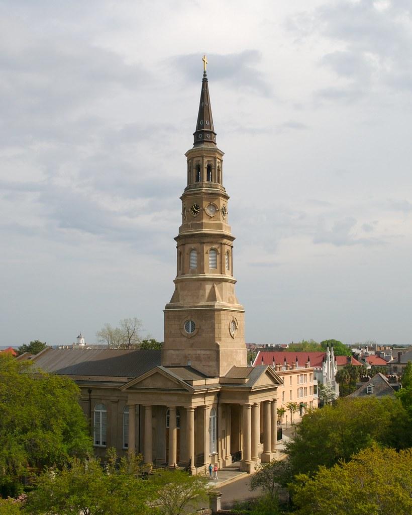 St Philips Church Charleston Sc By Billread