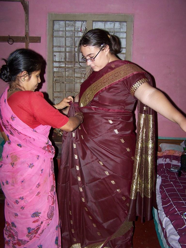 Saree Wrapping By Miramurphy Saree Wrapping By Miramurphy