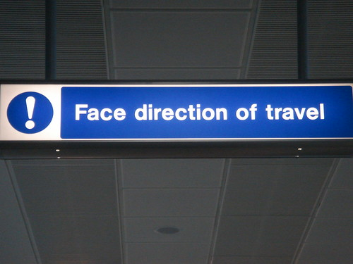 face direction of travel | by russelldavies