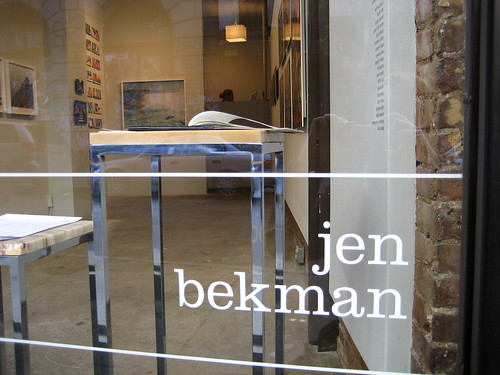 manhattan, nolita, spring street, the jen bekman gallery | by svanes