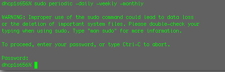 Sudo updated?? | by uninorth13