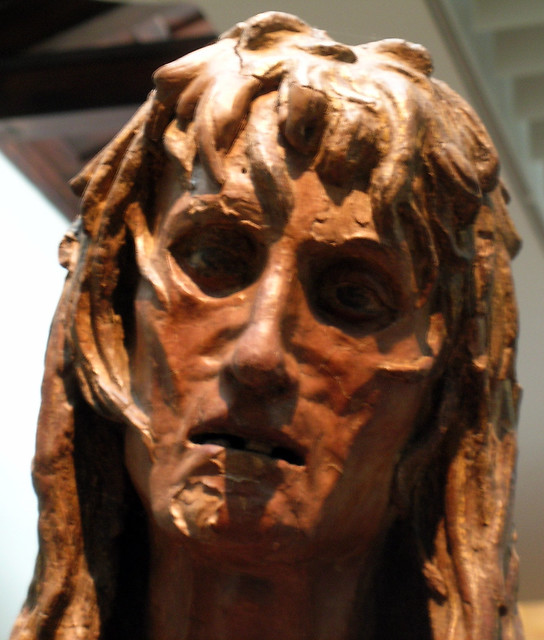 Donatello - Mary Magdalene faceDonatello Mary Magdalene