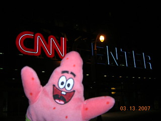 Patrick heckles teabagger Anderson Cooper outside CNN building -Atlanta, Georgia | by us1mm0