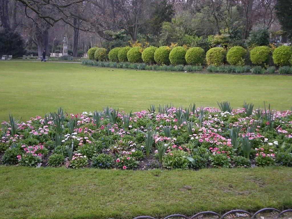 Jardin du luxembourg un parterre maza flickr for Parterre 3d