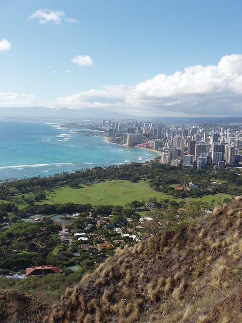 view from diamond head - photo #37