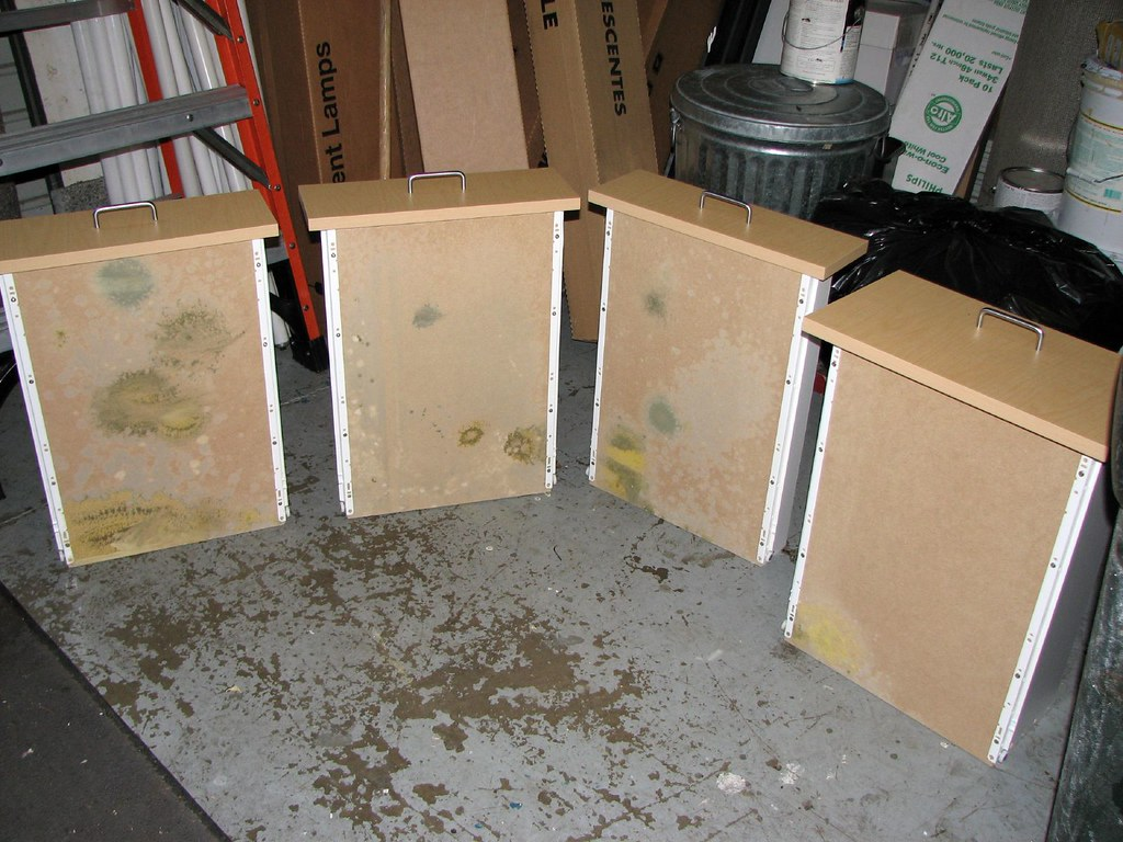 Mold A Set Of Drawers From An Office Breakroom Kitchen