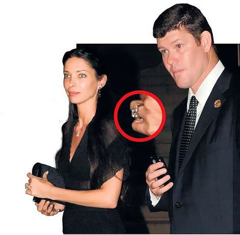 Erica Packer Engagement Ring