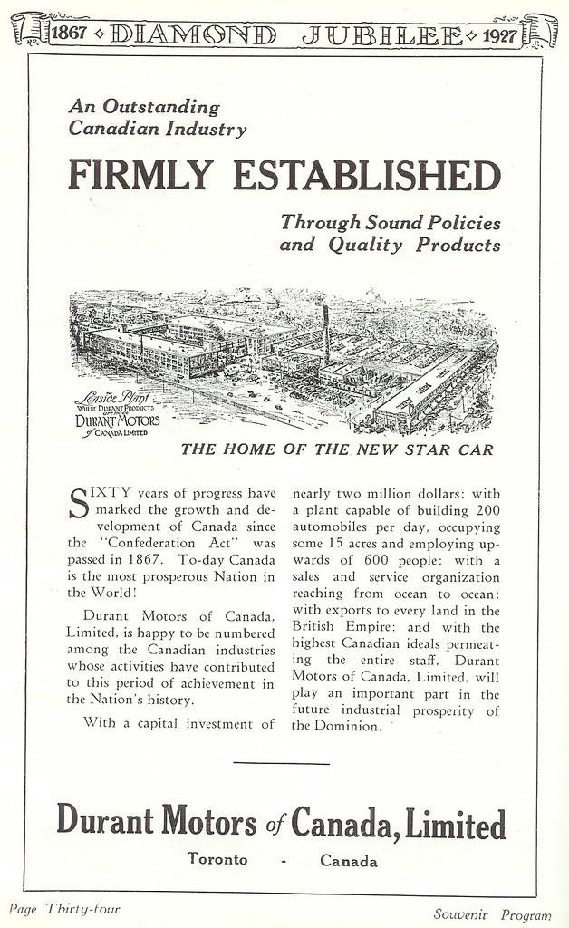 Vintage Ad #228 - Durant Motors Are Firmly Established
