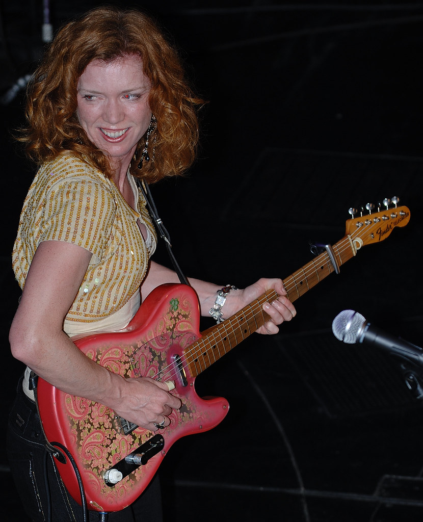 Sue Foley Impressive Guitarist With The Soul Of A Rocker