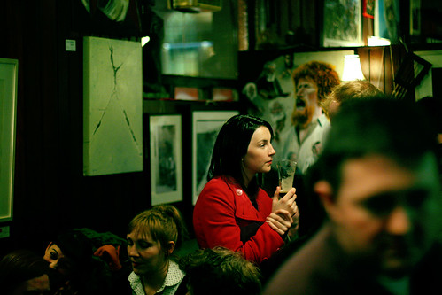 #Ireland: The woman with a red coat | by Frédéric Poirot