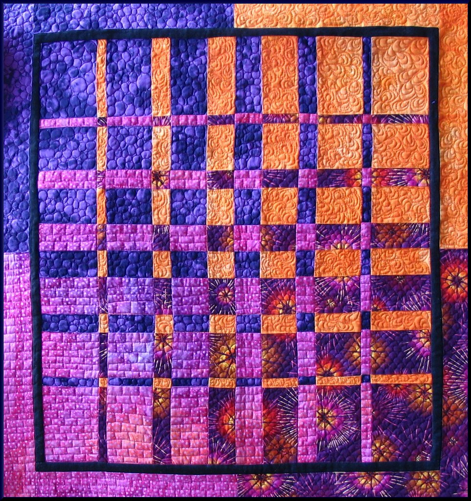 Sunset explore 209 this is a quilt i made at a quilt for Thread pool design pattern