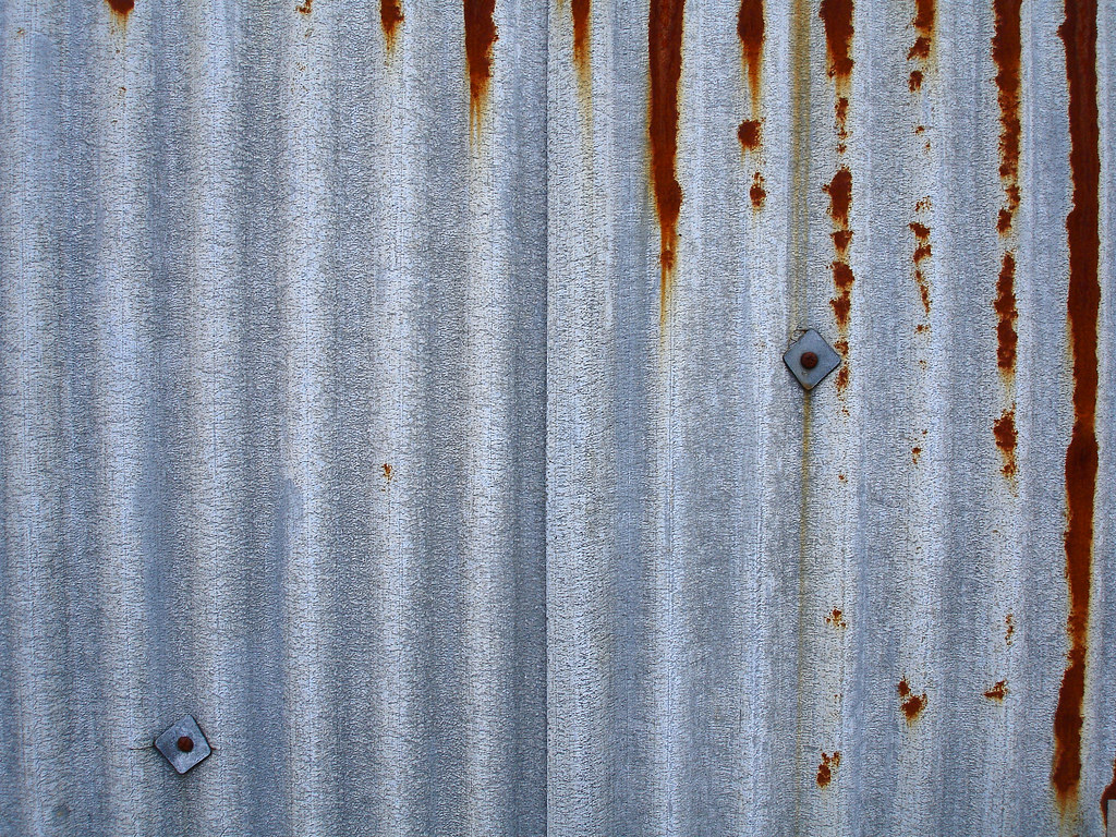 Corrugated Metal Sheet Let A Photographer Eat Some