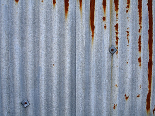Corrugated metal sheet | by allispossible.org.uk