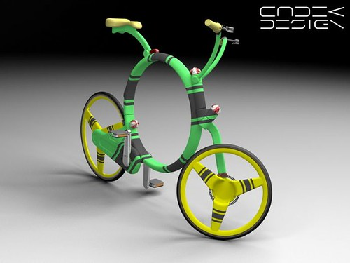 Coroflot  / folding bicycle concept | by Richard Masoner / Cyclelicious