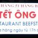beef steak signage